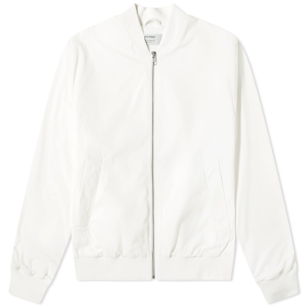 FRED PERRY | Fred Perry X Margaret Howell Tennis Bomber Jacket Snow White | Goxip