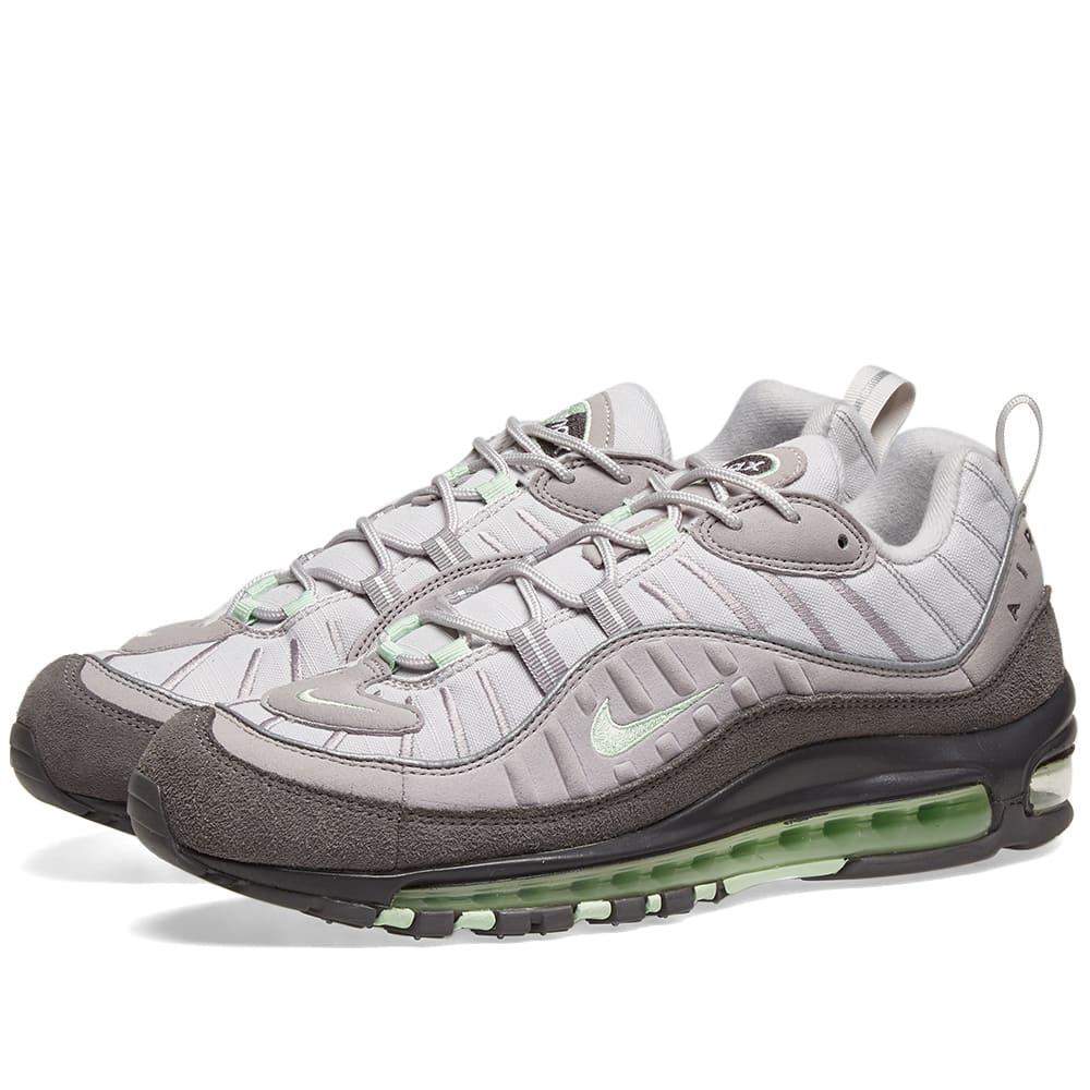 wholesale dealer cb77a c0d4a Nike Air Max 98 Grey, Mint   Reflective Silver   END.