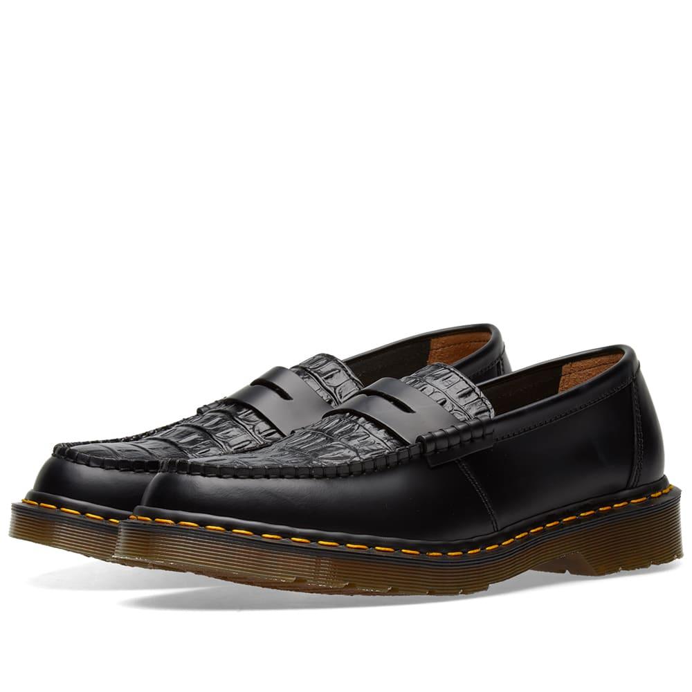 7f55be4f Dr. Martens x Stussy Penton Loafer Black | END.