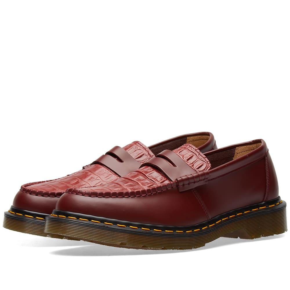 682a2e9e9ef Dr. Martens x Stussy Penton Loafer Cherry Red
