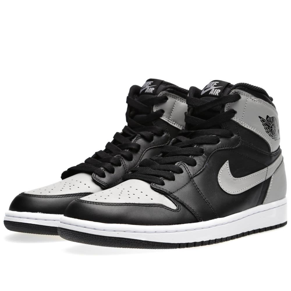 cheaper 66fe8 96abc Nike Air Jordan 1 Retro High OG  Shadow . Black   Soft Grey