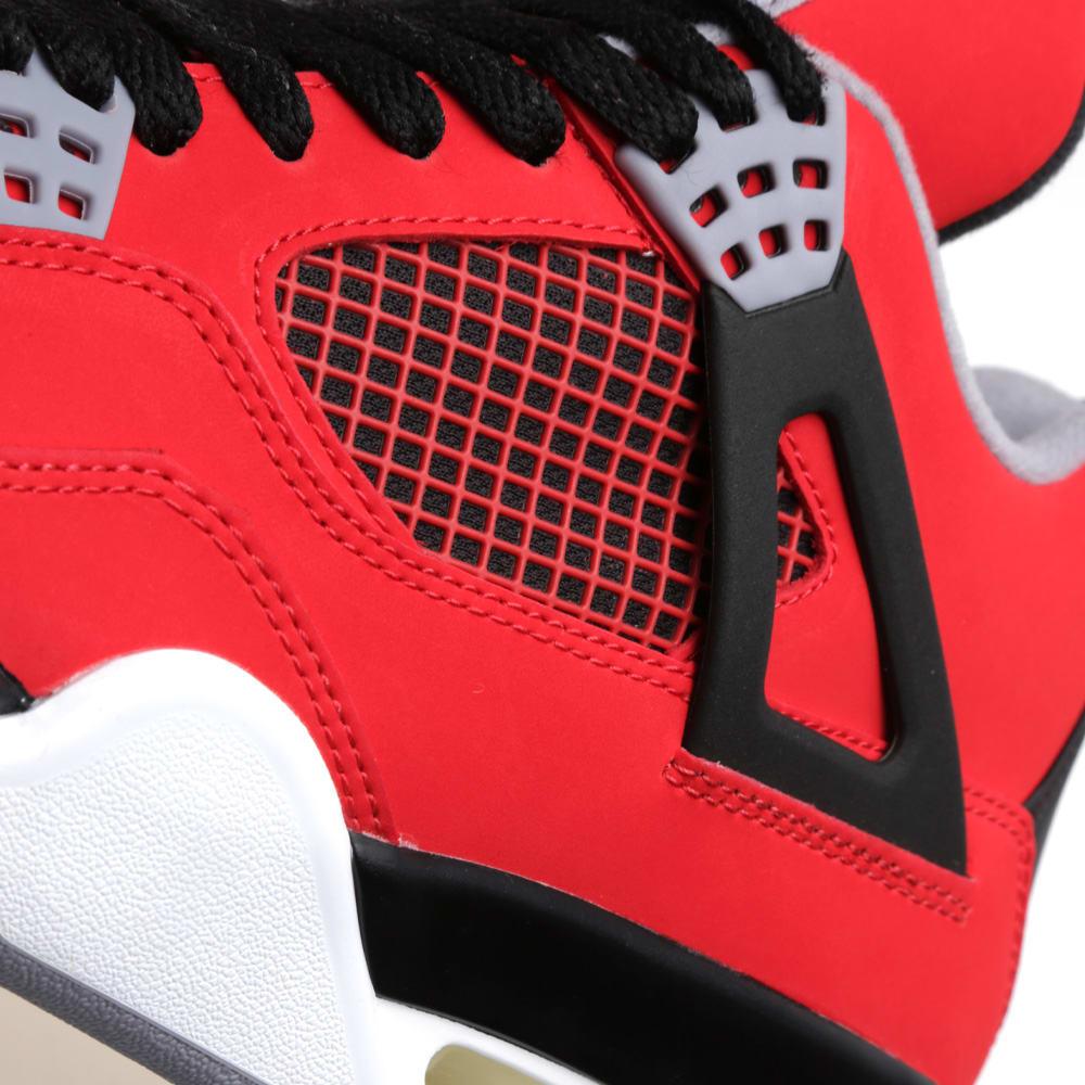 quality design aae28 86dd7 Nike Air Jordan IV Retro  Toro Bravo  Fire Red, White   Black   END.