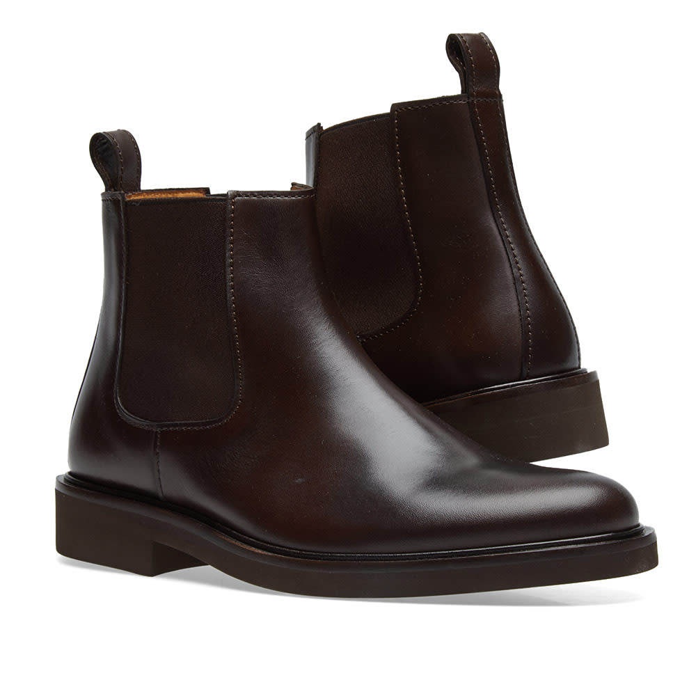 2caee7a6374 A.P.C. Simeon Leather Chelsea Boot