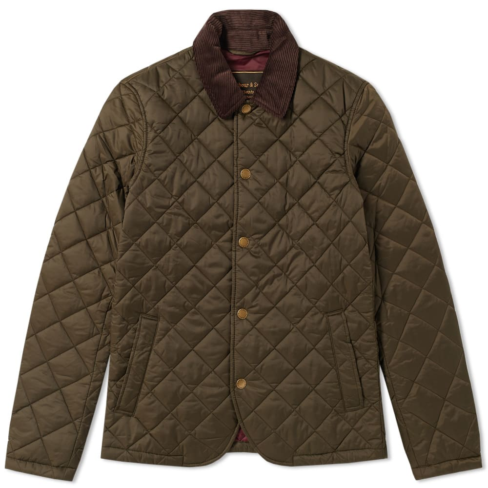 Barbour Drill Quilt Jacket
