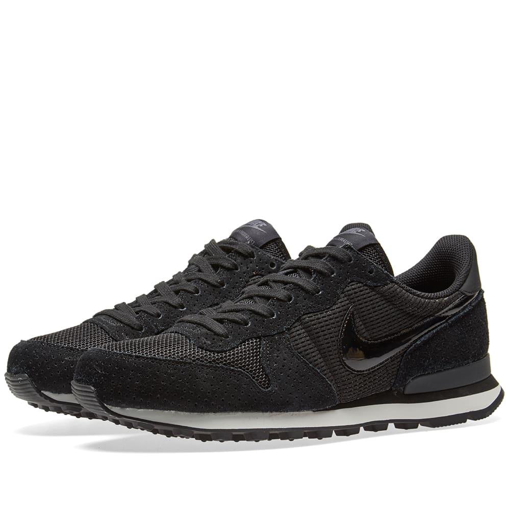 No hagas puerta Permanentemente  Nike W Internationalist Black & Dark Grey | END.