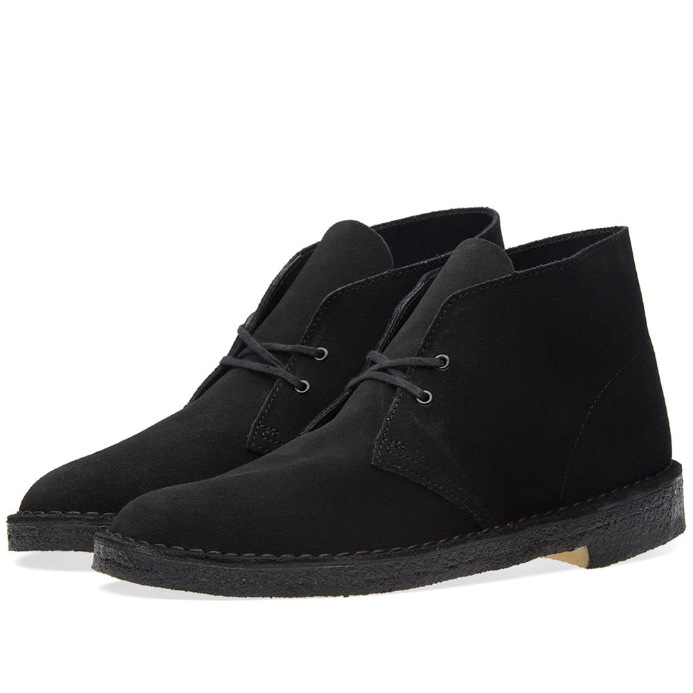 clarks originals desert boot black suede. Black Bedroom Furniture Sets. Home Design Ideas