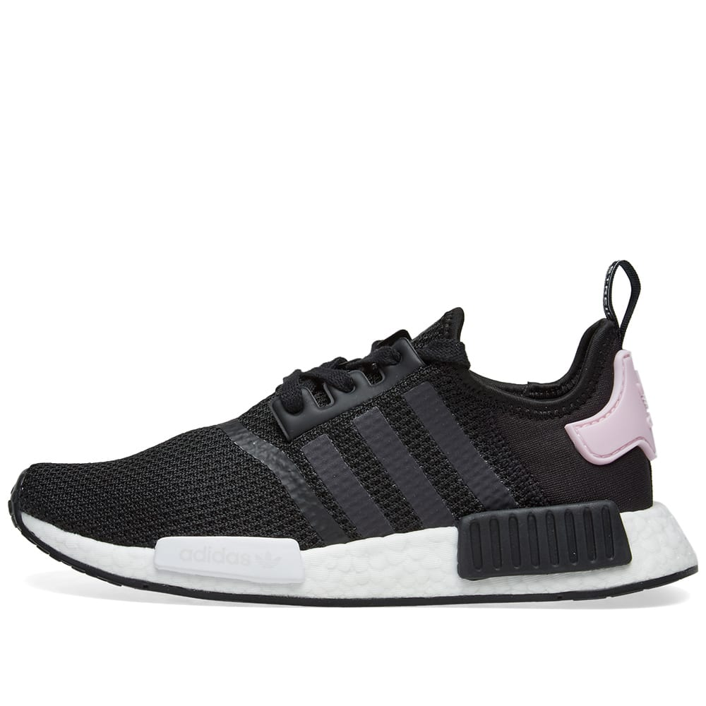 57a248960 Adidas NMD R1 W Core Black   Clear Pink