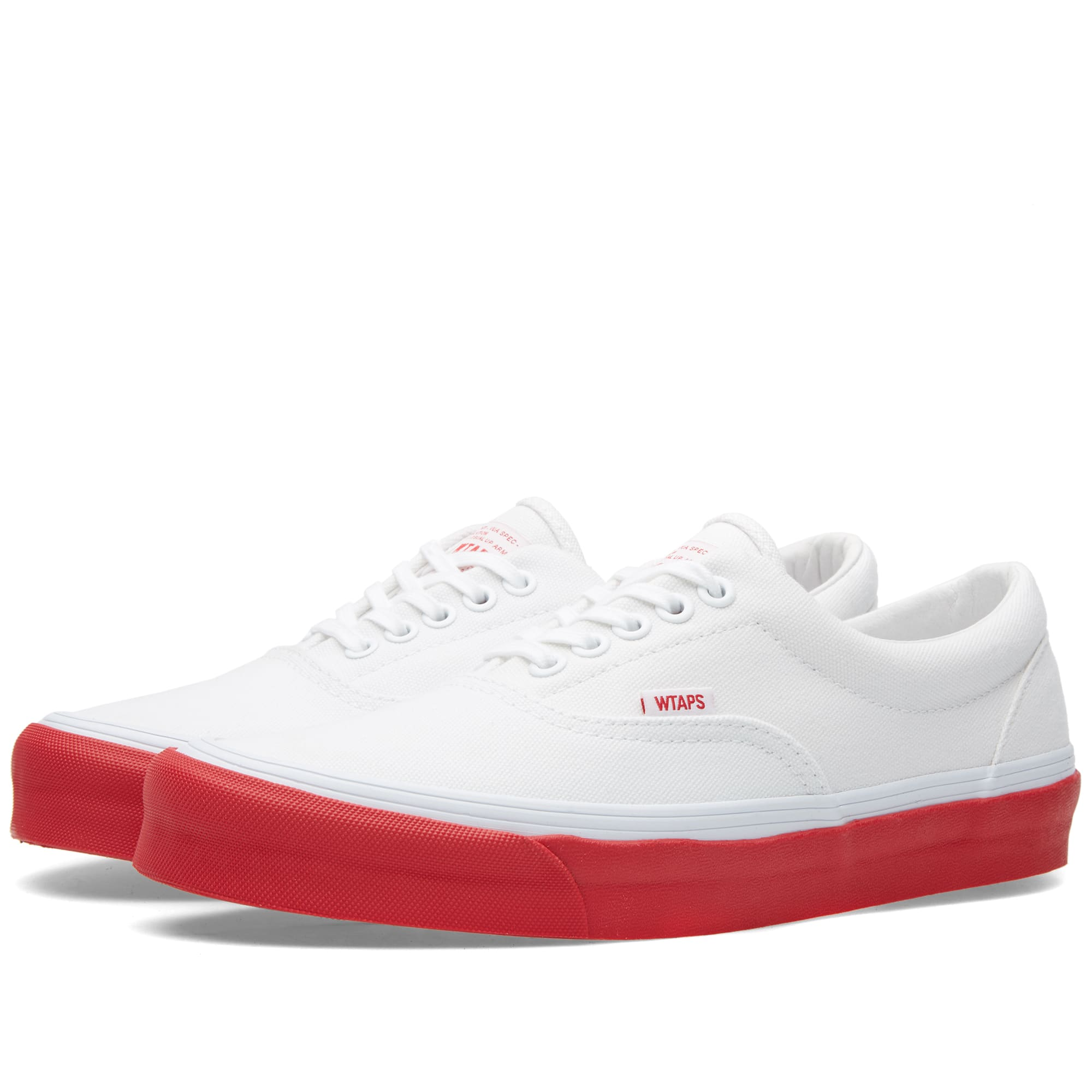 18214d384670a1 Vans Vault x WTAPS OG Era LX White   Red