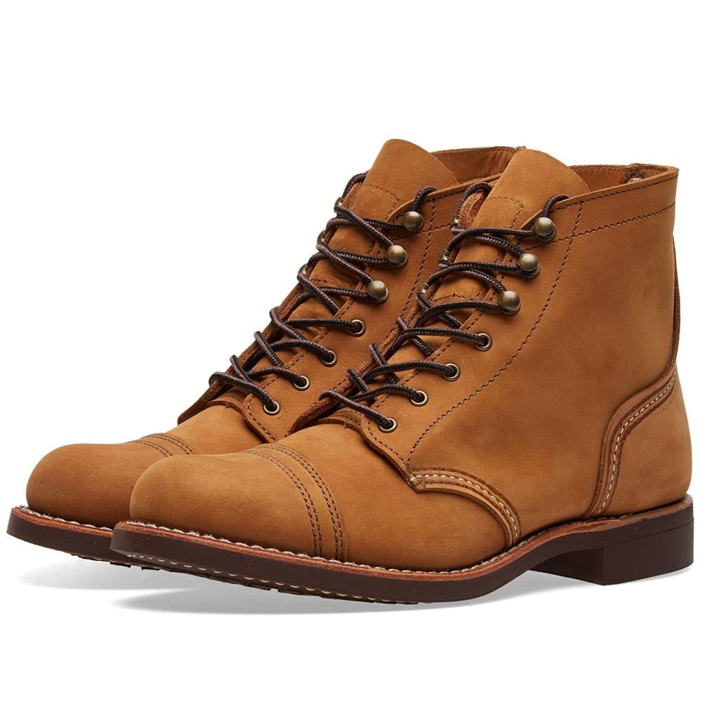 454de25f187 Red Wing Women's 3367 6 Iron Ranger Boot
