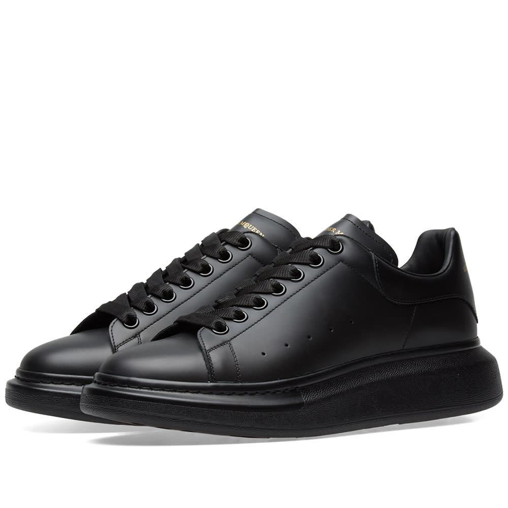 3ee5442f3 Alexander McQueen Wedge Sole Sneaker Triple Black