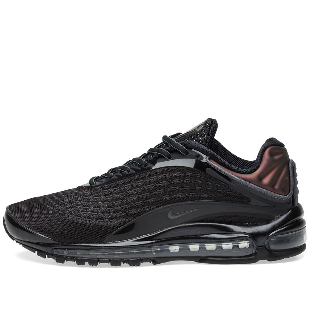 purchase cheap deff4 72b5d Nike Air Max Deluxe Black   Dark Grey   END.