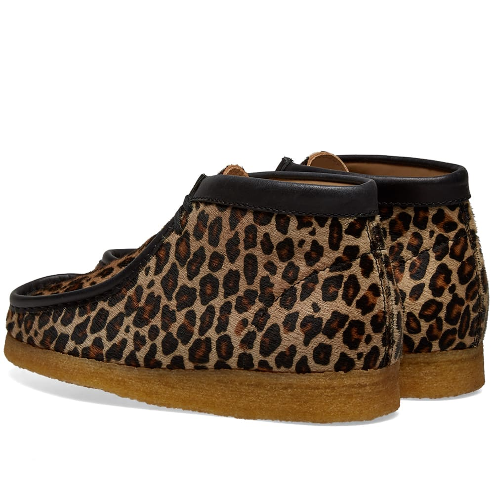 Clarks Originals Wallabee Boot Leopard