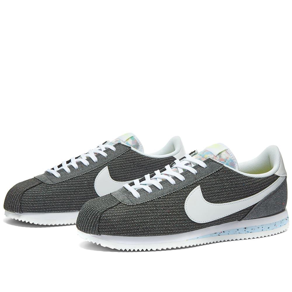 caricia longitud antepasado  Nike Cortez Basic PRM Move To Zero Grey, White & Volt | END.