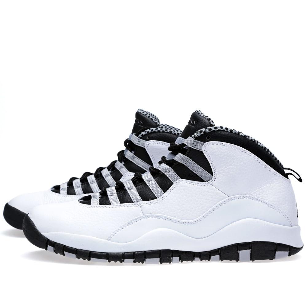 new product 6f1e2 ecd1a Nike Air Jordan X Retro 'Steel Grey'