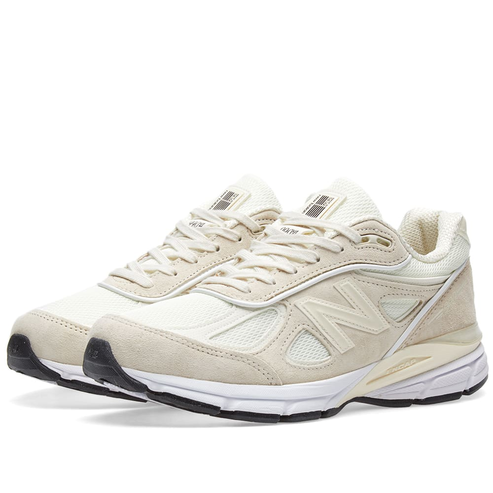 the best attitude eafcc 1ec6d New Balance x Stussy 990V4 White   END.