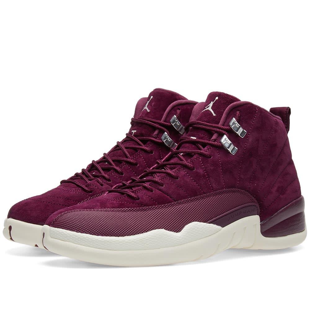 buy online dc89e f06b0 Nike Air Jordan 12 Retro 'Bordeaux Winter'