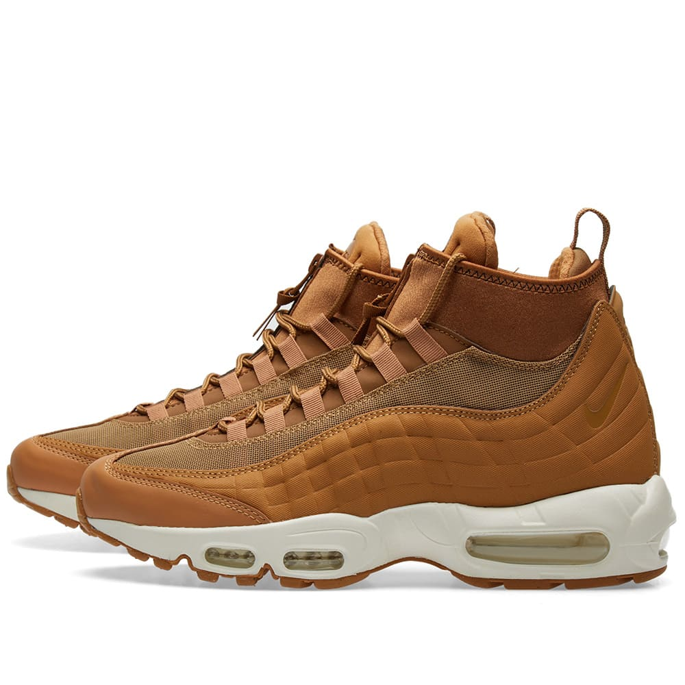 608e25634be1f Nike Air Max 95 Sneakerboot Flax & Ale Brown | END.