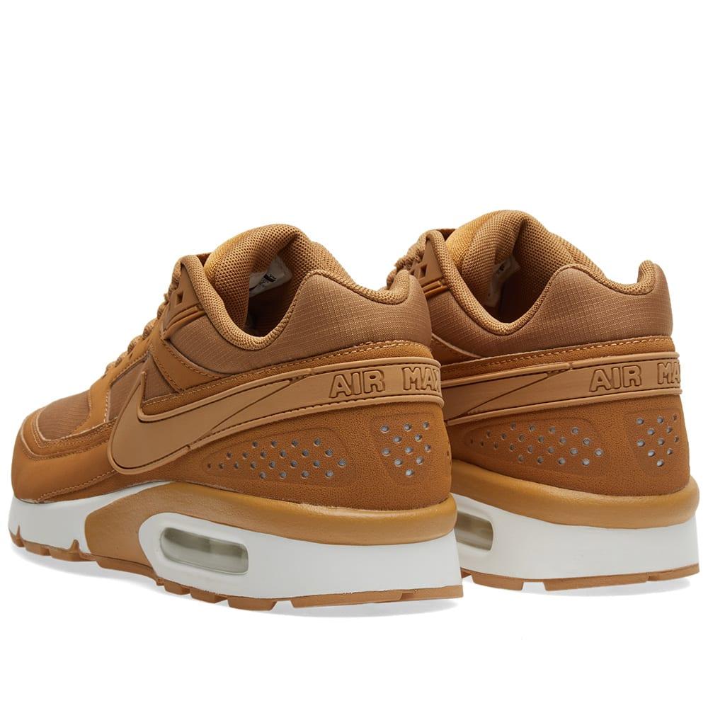 sports shoes 2d908 8c819 Nike Air Max BW Flax   White   END.