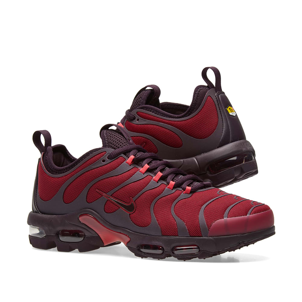 low priced 5134f 86b53 Nike Air Max Plus TN Ultra. Noble Red   Port Wine