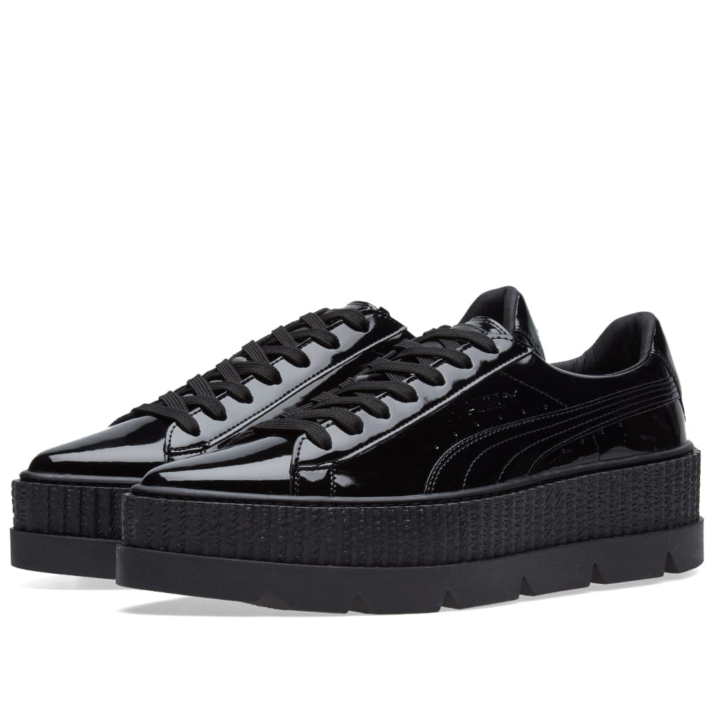 new product 25e2b d28f7 Puma x Fenty by Rihanna Pointed Patent Creeper