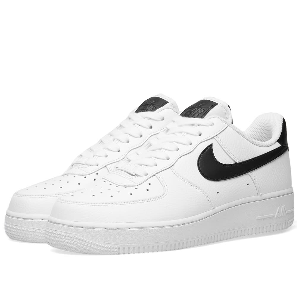 huge discount 00d4b 70290 Nike Air Force 1  07 W White   Black   END.
