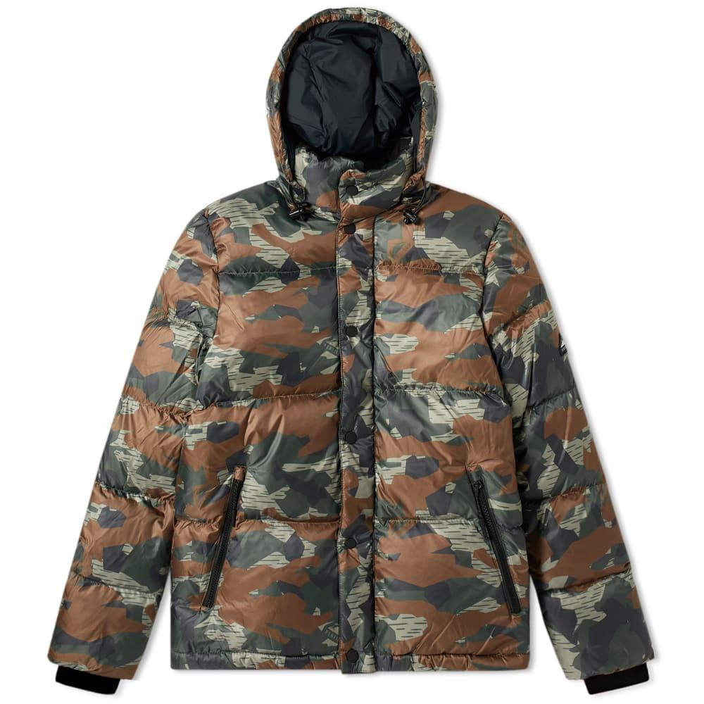 e23a54a89bfeb Penfield Equinox Camo Jacket Olive   END.