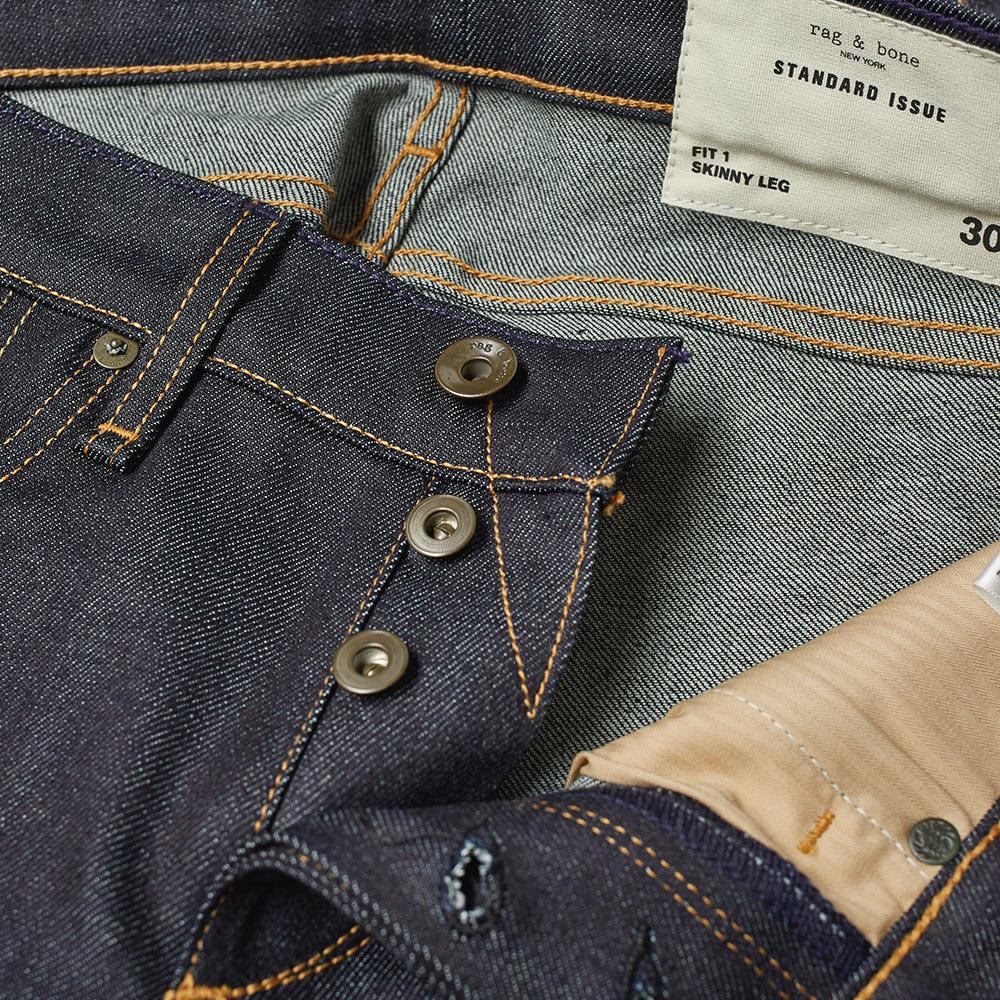 c744b013 Rag & Bone Standard Issue Skinny Jean Raw | END.