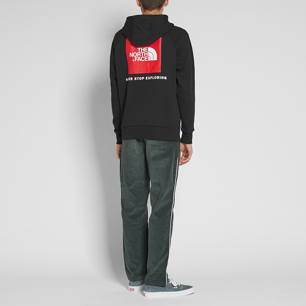8248d2a02 The North Face Raglan Red Box Hoody