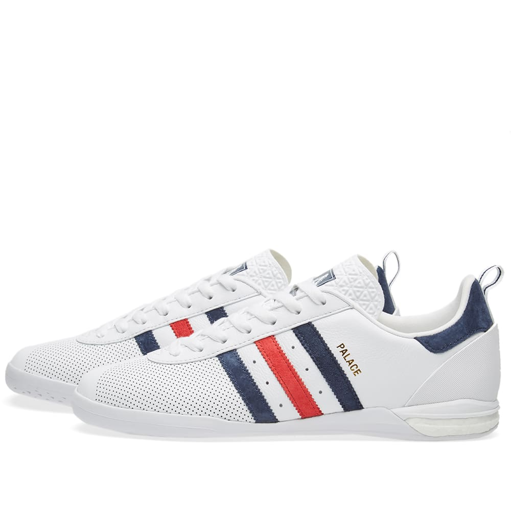 Adidas x Palace Indoor White | END.