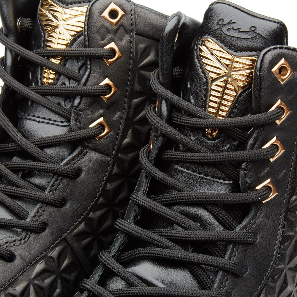 release date: bb15d 85f5c Nike Kobe X Elite EXT QS Black   Metallic Gold   END.
