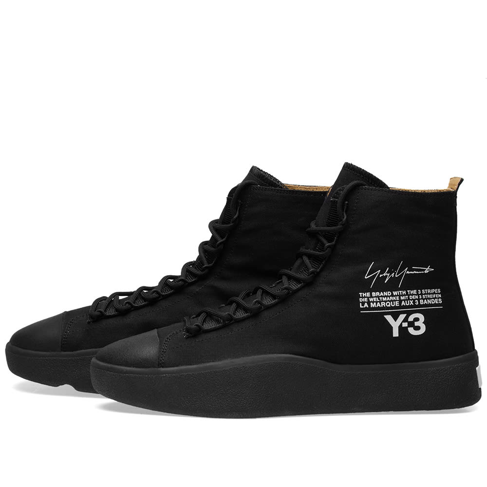 finest selection 2a169 69b3c Y-3 Bashyo Black | END.