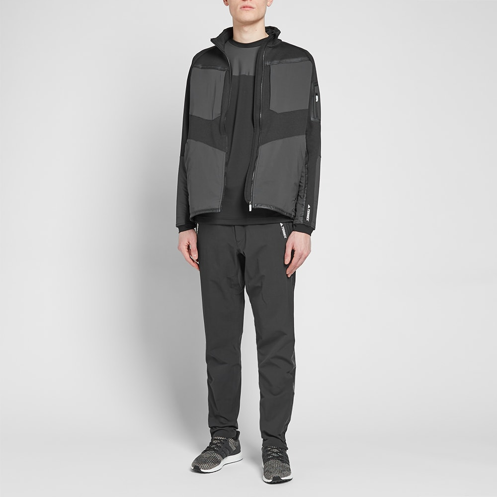outlet store 3a8ea 0254c Adidas x White Mountaineering Terrex Stockhorn Jacket. Black