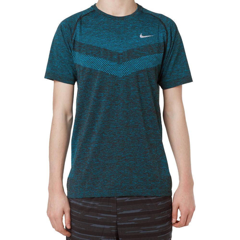 623f13009d77 Nike Dri-Fit Knit Tee Blue Lagoon