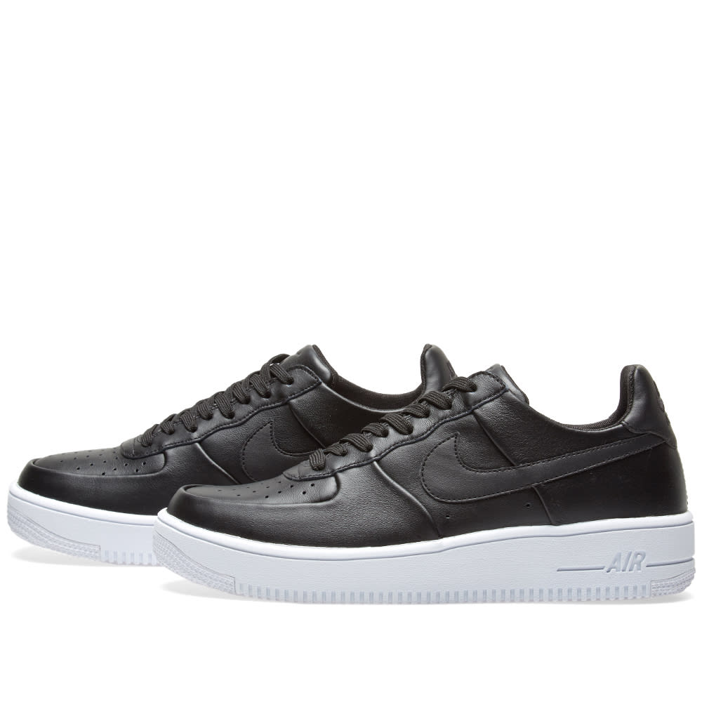 separation shoes 0d5ef 4ebd7 Nike Air Force 1 Ultra Force Leather Black   White   END.