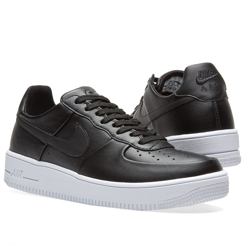 separation shoes 94875 ef973 Nike Air Force 1 Ultra Force Leather Black   White   END.