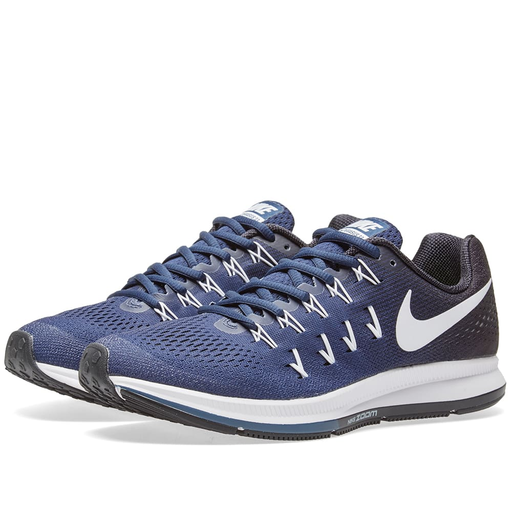 8de9d3e70c9dd Nike Air Zoom Pegasus 33 TB Midnight Navy   White