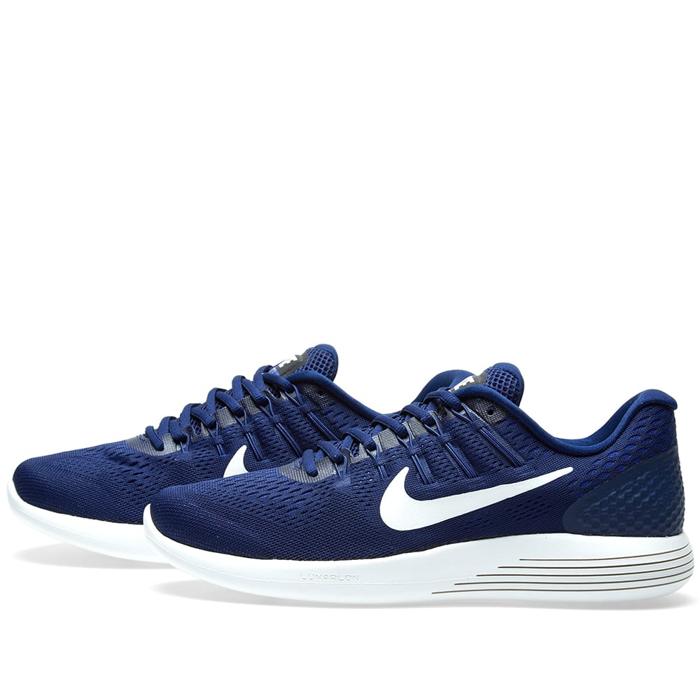 best service b45cf 37d10 Nike LunarGlide 8 Binary Blue   Summit White   END.