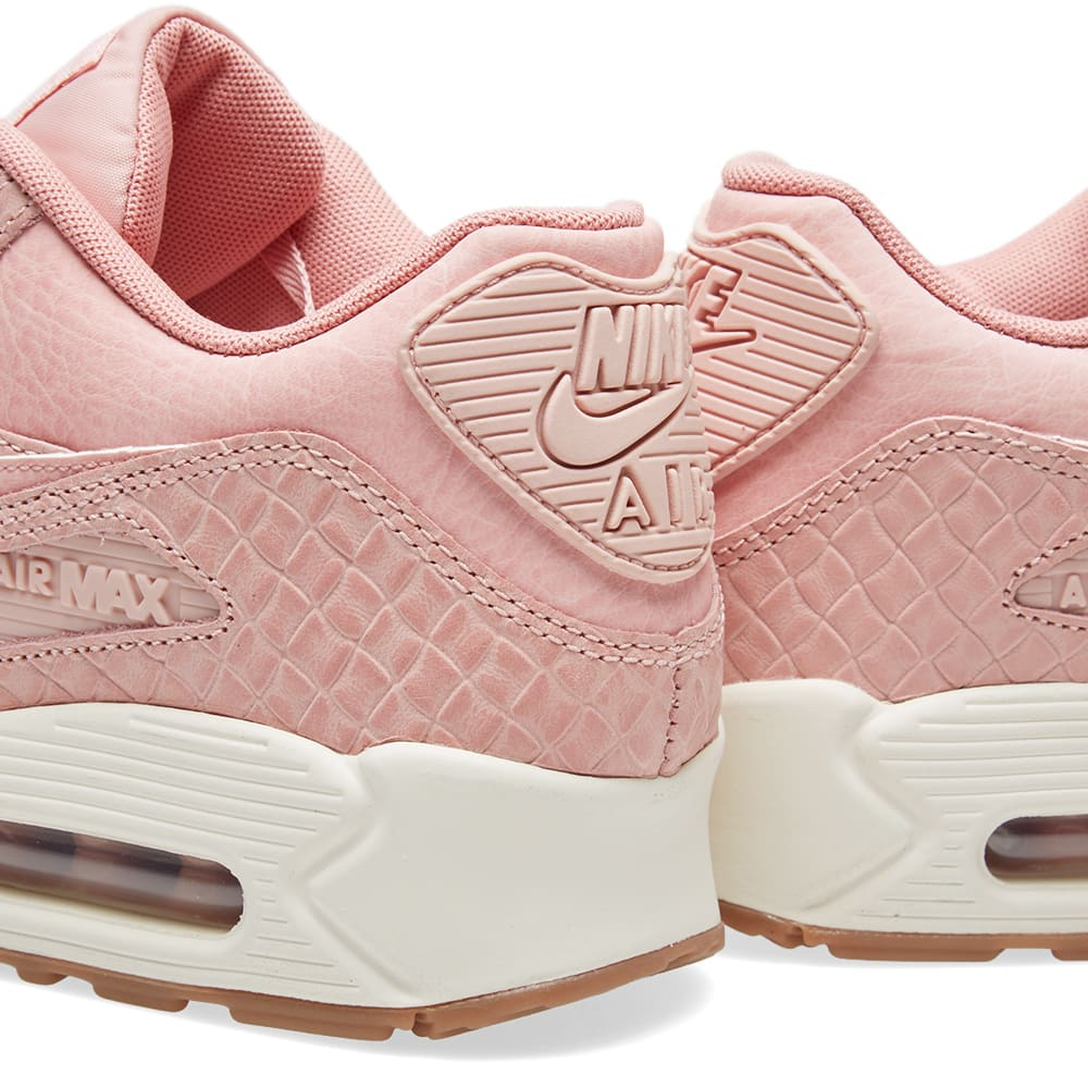 reputable site c2348 3138f Nike W Air Max 90 Premium Pink Glaze   Pearl Pink   END.