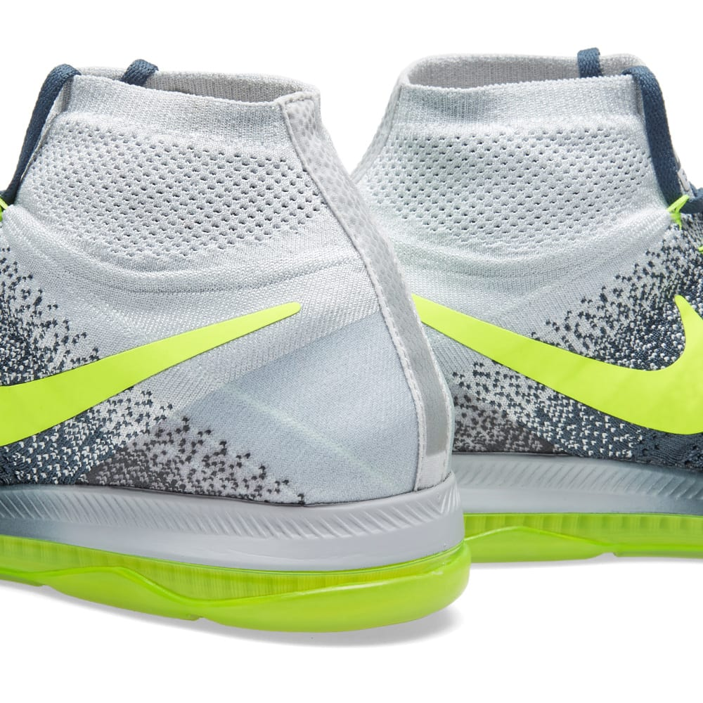 sale retailer cb9ec 3039c Nike Zoom All Out Flyknit Blue Fox   Volt   END.
