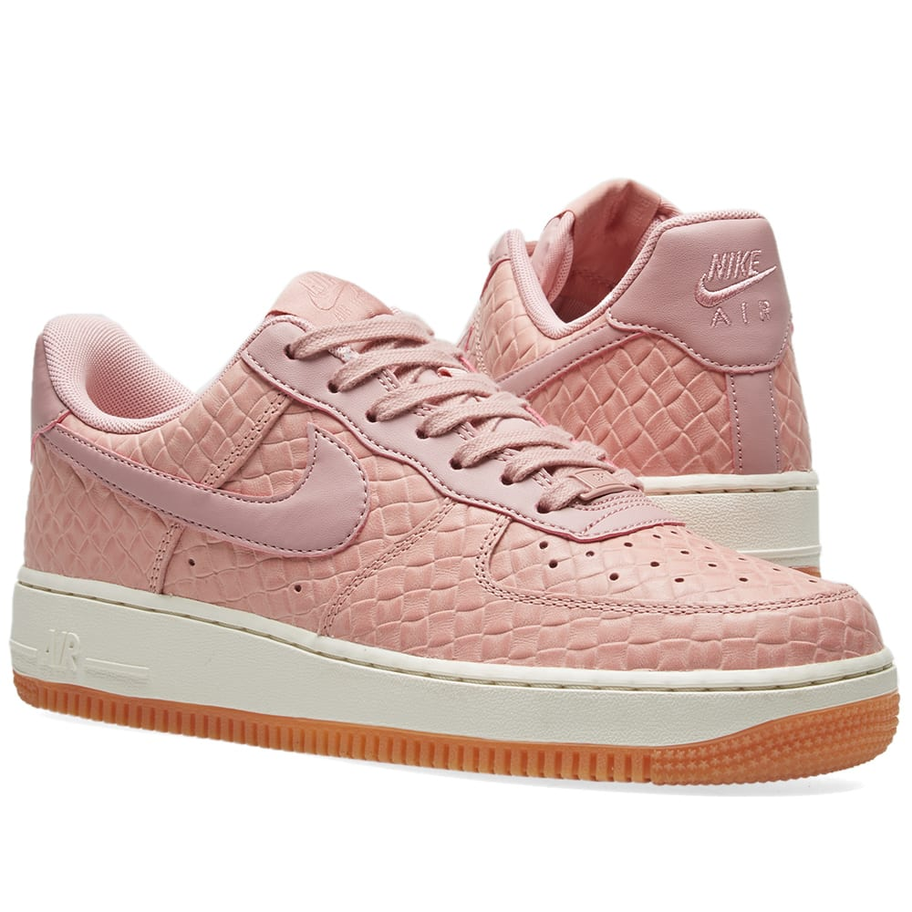 huge selection of bfb2e 32eff Nike W Air Force 1  07 Premium. Pearl Pink   Pink Glaze