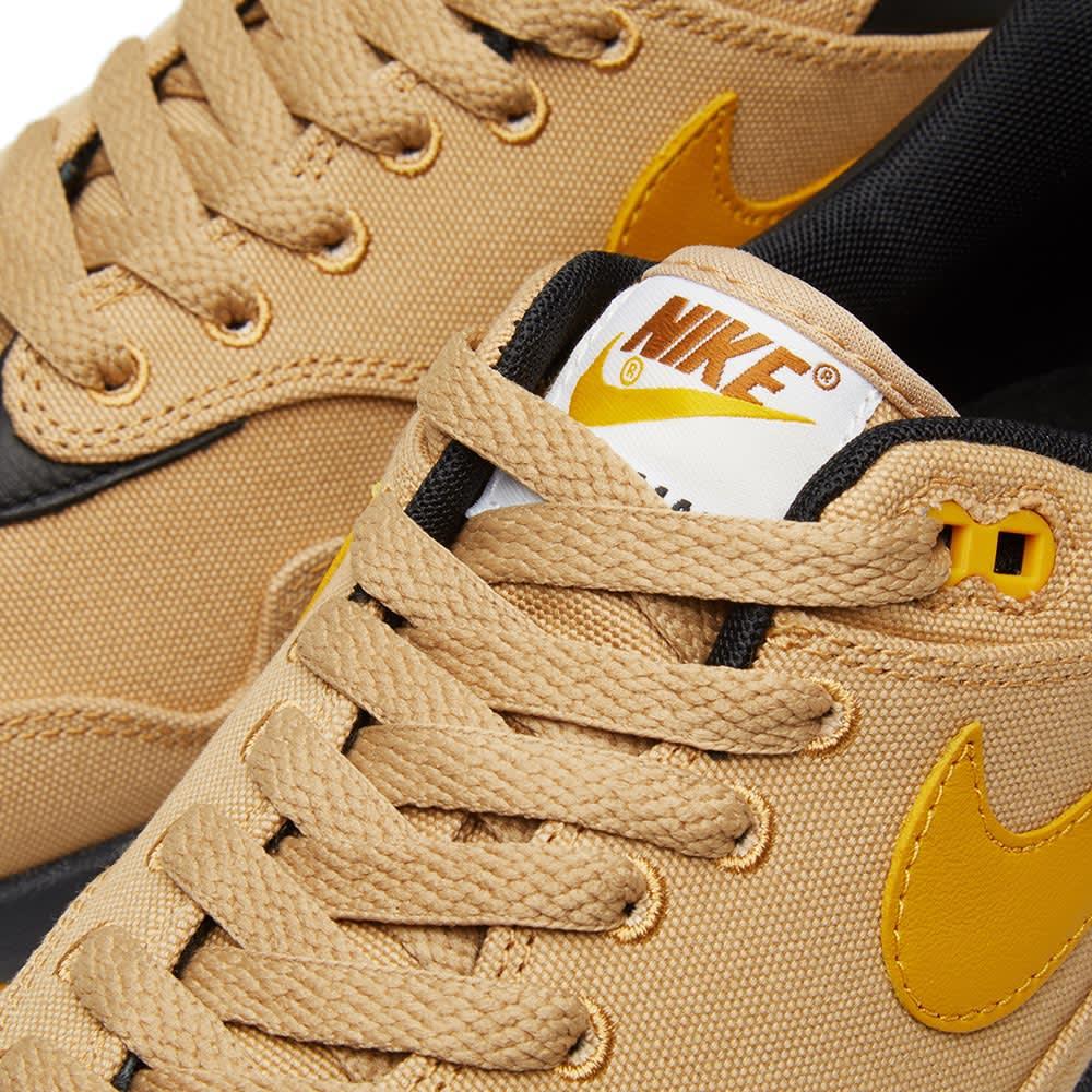 Nike Air Max 1 Premium Canvas Elemental Gold is Now