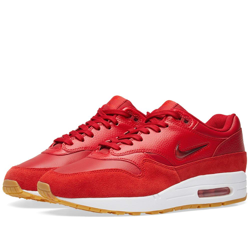 Nike Air Max 1 Premium SC Red Women AA0512 602