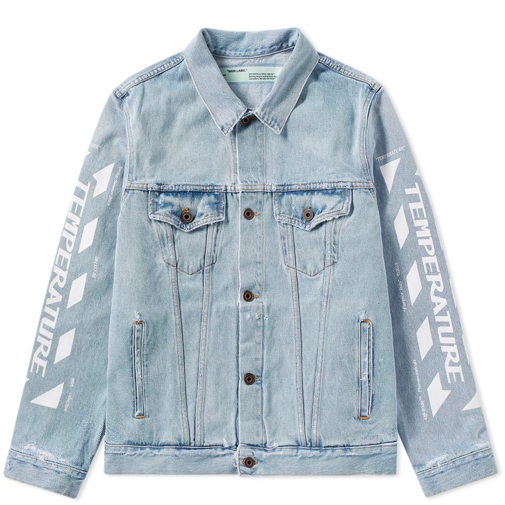 1ecba86fe Off-White Temperature Oversized Jacket