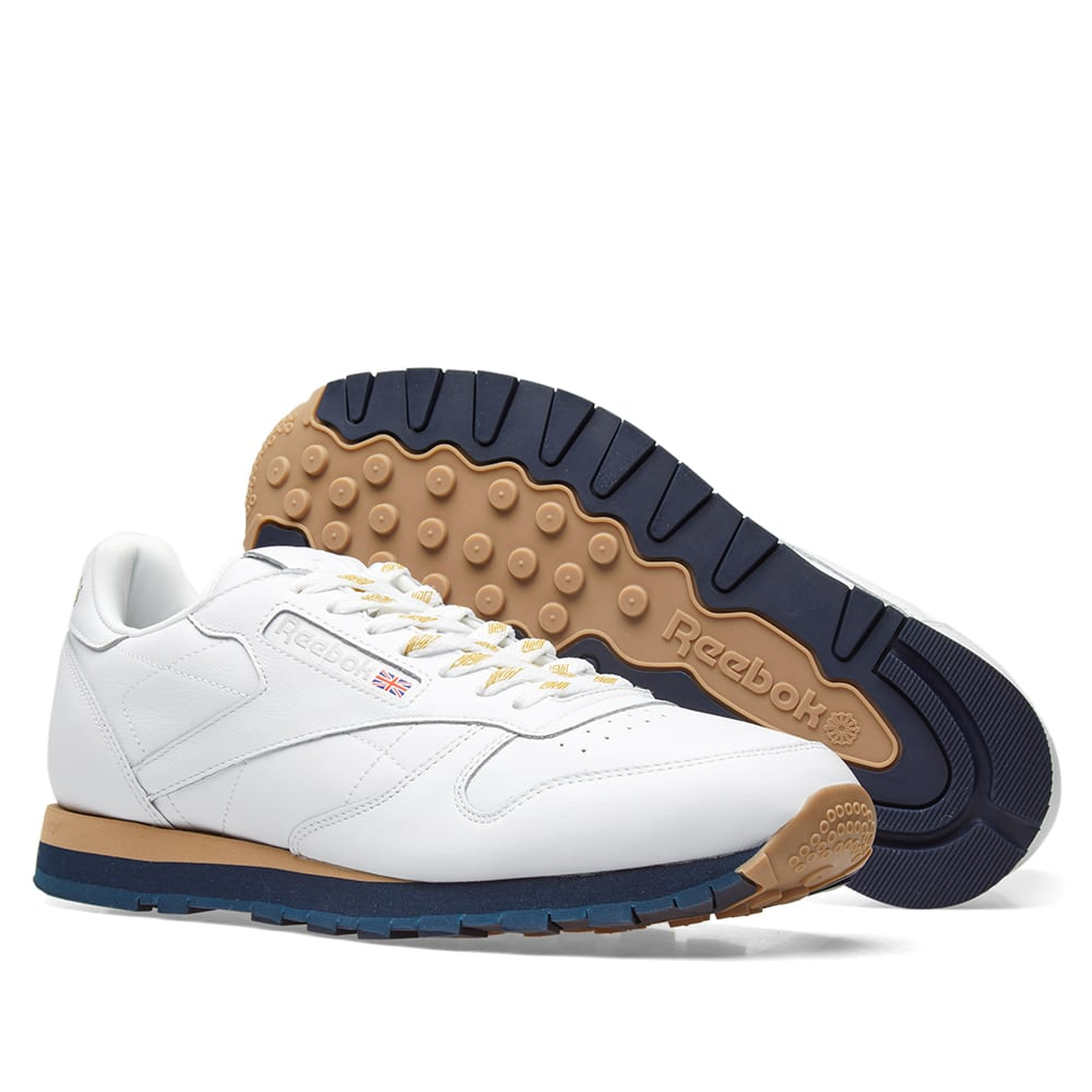 07467708d4558 Reebok x Beams Classic Leather White