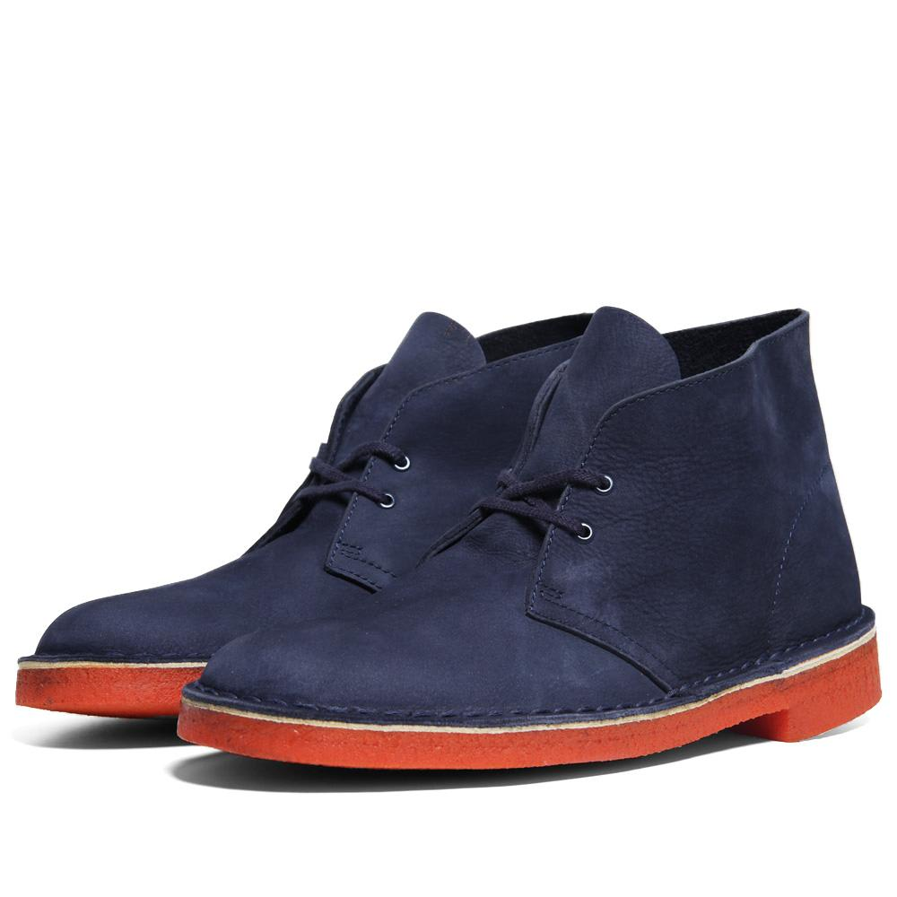 clarks originals desert boot navy nubuck. Black Bedroom Furniture Sets. Home Design Ideas