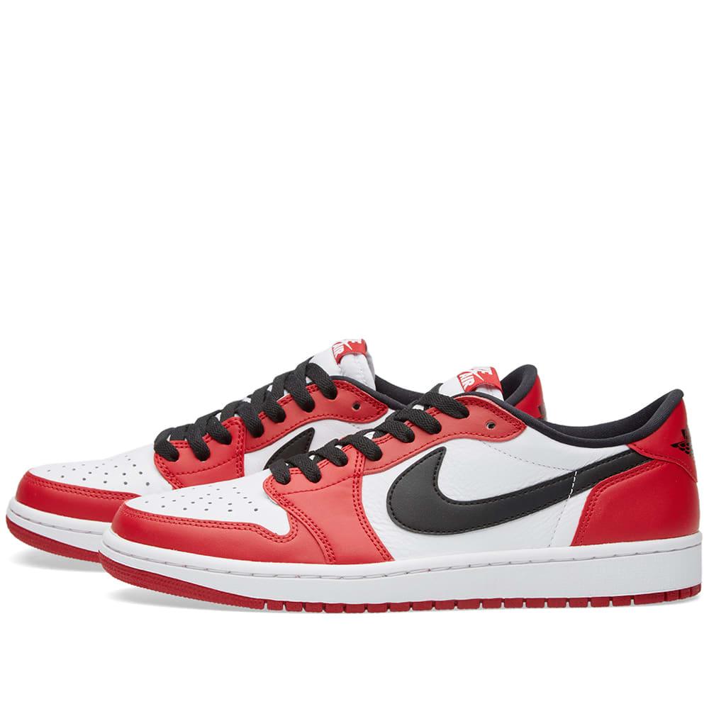 04c7fcd6a876 Nike Air Jordan 1 Retro Low OG Varsity Red
