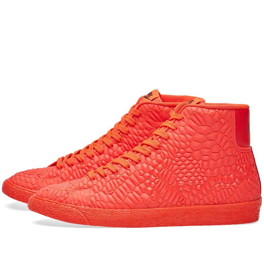 Nike W Blazer Mid DMB Bright Crimson | END.