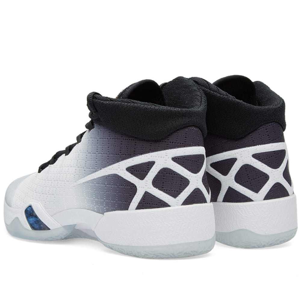 new concept b94b4 12a18 Nike Air Jordan XXX White, Black   Wolf Grey   END.