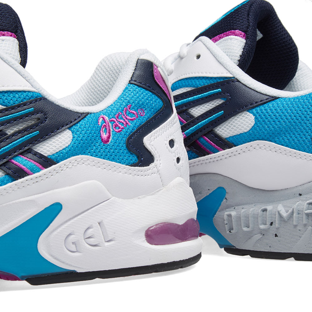 sports shoes 5d021 c4d1c Asics Gel Kayano 5 OG White, Teal   Purple   END.