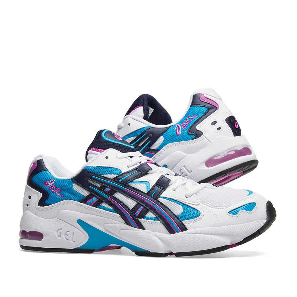 new product 95c24 4603f Asics Gel Kayano 5 OG. White, Teal   Purple